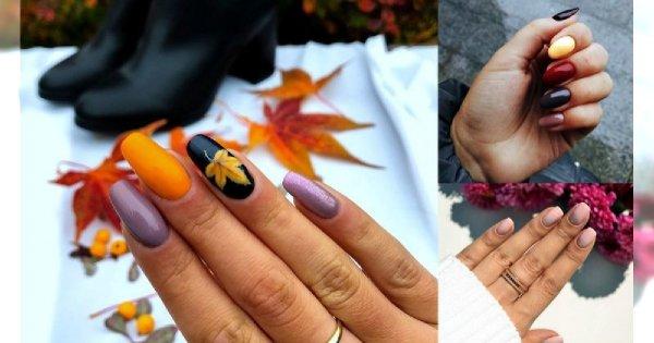 20 propozycji na jesienny manicure - galeria wyjątkowych stylizacji