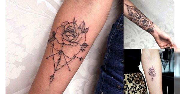 Tatuaż na przedramię - galeria pięknych wzorów dla kobiet