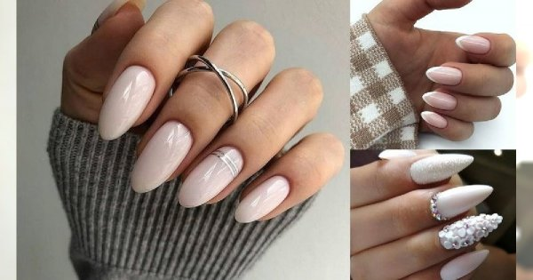 Ślubny manicure - galeria najpiękniejszych zdobień 2019/2020