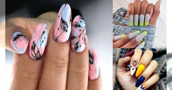 40 stylizacji paznokci - galeria trendów manicure 2019/2020