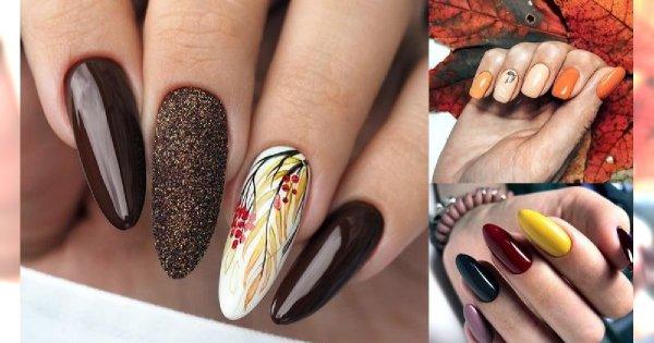 Jesienny manicure - galeria nietuzinkowych wzorów