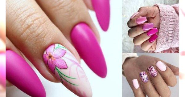 Różowy manicure - galeria fantastycznych stylizacji