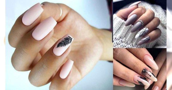 Manicure z piórkiem - 20 oryginalnych i ślicznych zdobień