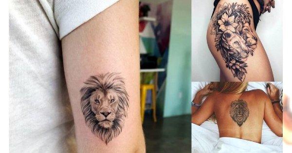 20 kobiecych tatuaży z motywem lwa w roli głównej! [GALERIA]