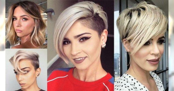 20 krótkich i półkrótkich fryzur - galeria stylowych cięć