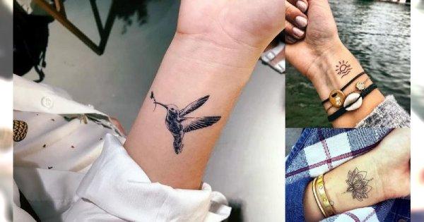Tatuaże na nadgarstek - galeria ślicznych i różnorodnych wzorów