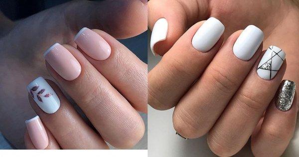 Jasne paznokcie - 20 inspiracji na jasny manicure