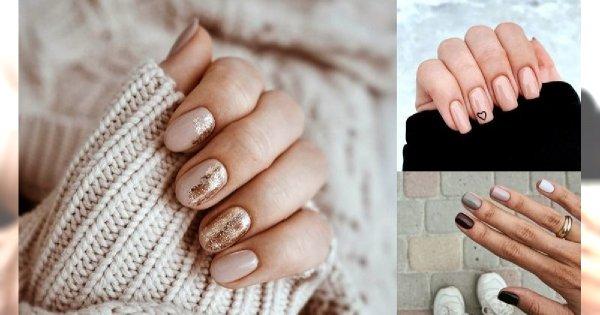 Nude manicure - galeria najlepszych propozycji na jesień