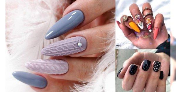 Jesienna galeria manicure - 18 najpiękniejszych odsłon