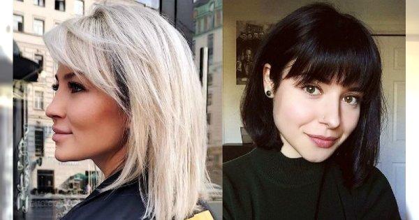 20 pomysłów na fryzurę z modnym dodatkiem w postaci grzywki! [GALERIA]