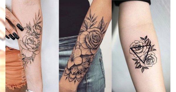 Tatuaże na przedramię - galeria fantastycznych wzorów dla kobiet