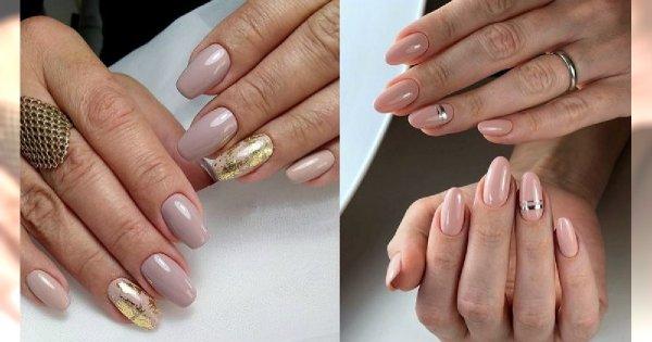 Nude manicure - galeria najlepszych propozycji