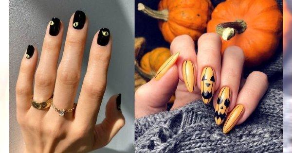 Manicure na Halloween - galeria przerażających i stylowych pomysłów