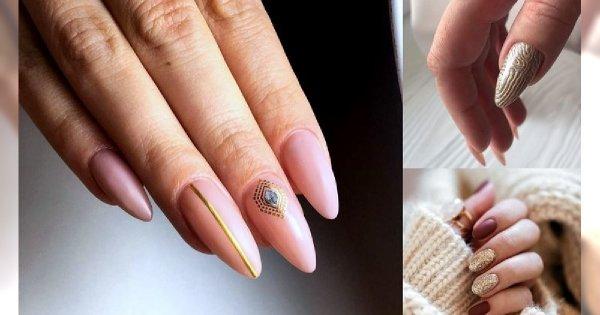 Manicure ze złotymi zdobieniami - galeria stylowych i gustownych propozycji