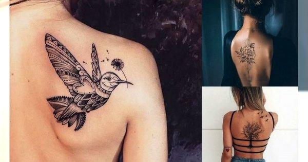 26 hipnotyzujących tatuaży w okolicy pleców! [GALERIA]