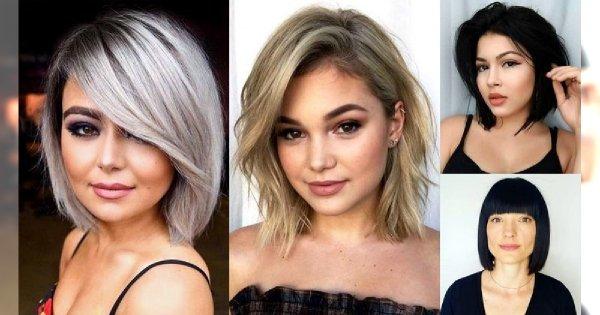 Genialne fryzury dla okrągłej twarzy - galeria efektownych cięć