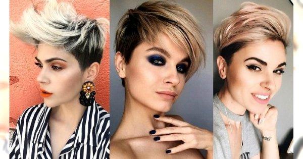 Odmładzające fryzury krótkie - galeria najmodniejszych cięć 2019/2020