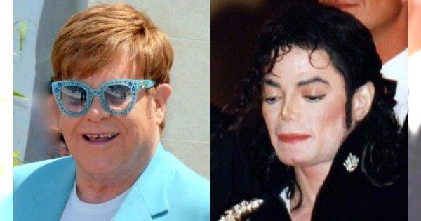 """Elton John szczerze o Michaelu Jacksonie: ,,Był naprawdę chory psychicznie"""""""