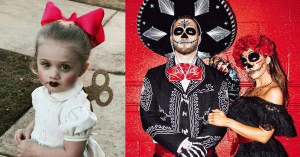 Halloween: kostiumy last minute DIY damskie, męskie dla par i dla dzieci. Najlepsze propozycje mrożące krew w żyłach