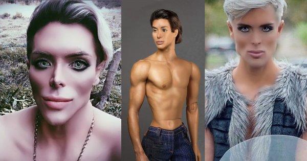Polski Ken ma konkurentów. Plastikowych żywych mężczyzn jest więcej