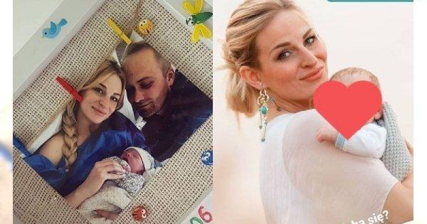 """Anita ze """"Ślubu od pierwszego wejrzenia"""" pokazała nowe zdjęcie z synkiem! Jerzyk ma już 4 miesiące"""