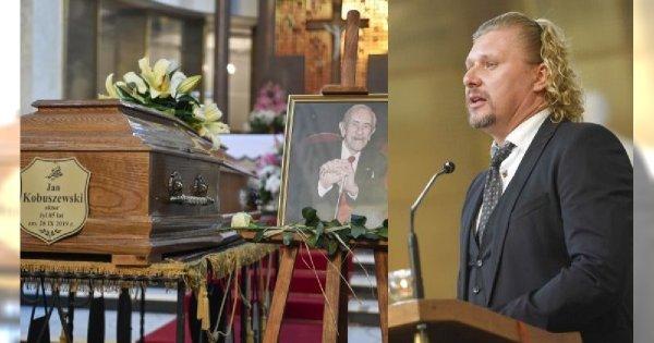 Pogrzeb Jana Kobuszewskiego. Aktorzy i najbliżsi żegnają wybitnego artystę