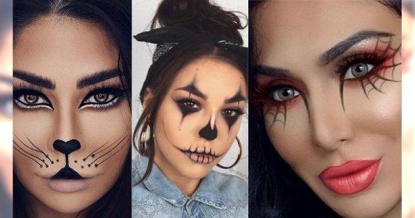 Prosty makijaż na Halloween 2019. Zrób upiorny make up w 10 minut!