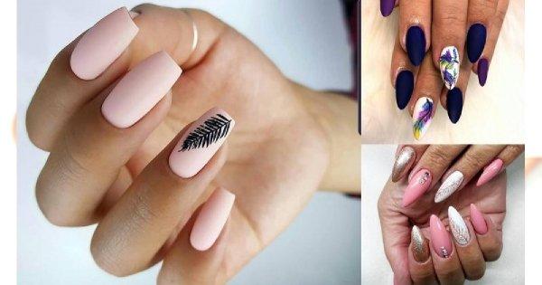 Manicure z piórkiem - 20 stylowych zdobień