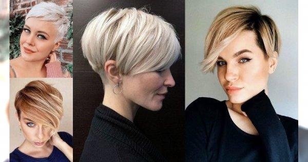 Odmładzające fryzury krótkie 2020 - z grzywką, pixie, undercut i inne