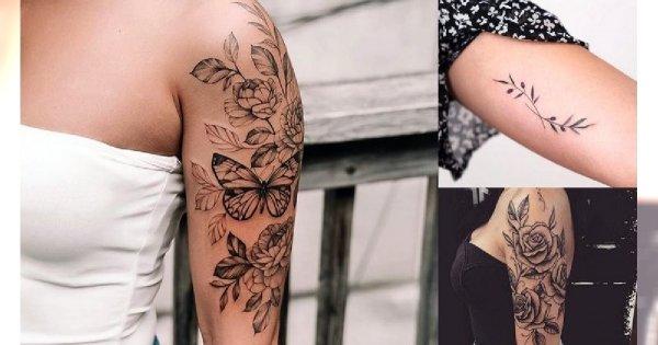 Tatuaż na rękę - 20 oryginalnych wzorów dla kobiet