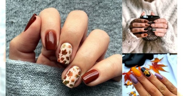 20 propozycji na jesienny manicure - galeria pięknych zdobień