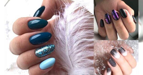 Zimowy manicure - 25 przepięknych stylizacji z sieci