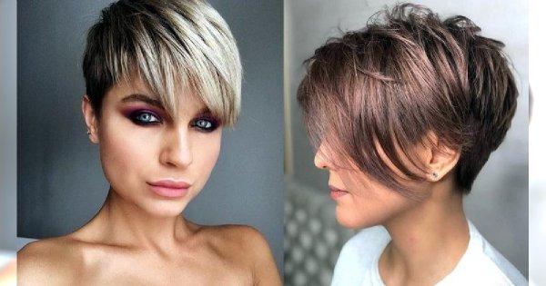 Odmładzające pixie cut - galeria fryzjerskich trendów 2020