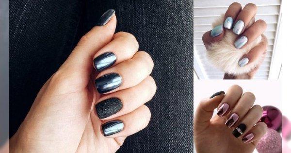 Metallic manicure ponownie na topie! Galeria zjawiskowych stylizacji