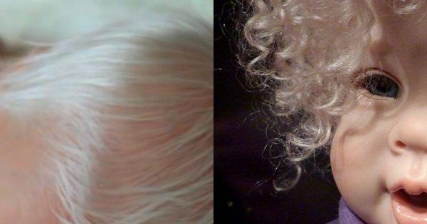 Mama urodziła dziecko, które wyglądało, jak porcelanowa lalka. Gdy pielęgniarka wysuszyła mu włosy, odebrało jej mowę