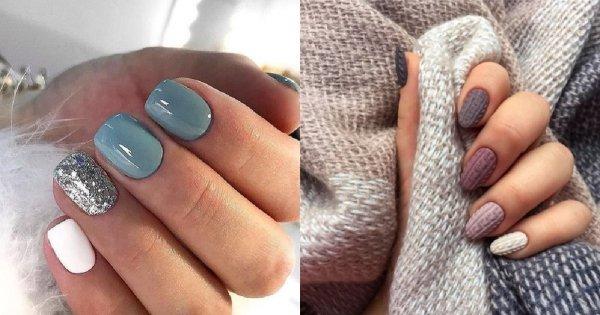 Zimowe paznokcie -  20 propozycji w najmodniejszych odcieniach w tym sezonie