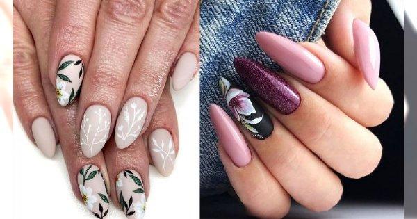 16 pomysłów na piękny kwiatowy manicure! [GALERIA]