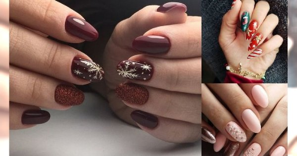 25 wyjątkowych pomysłów na świąteczny manicure! [GALERIA]