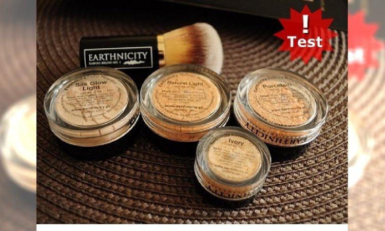 Testujemy kosmetyki mineralne do makijażu od Earthnicity!