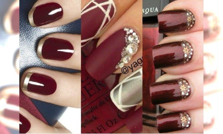 Trend 2015 Bordowy Manicure Podsuwamy Najlepsze Pomysły Na Wzorki