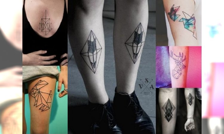 Geometryczne Tatuaże Top 45 Wyjątkowo Modnych Wzorów Dla