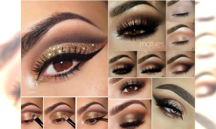 Złoty Makijaż Oczu Na Sylwestra 15 Niezwykłych Propozycji