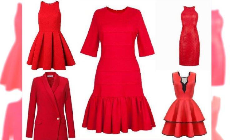 3ff1bac20b Czerwone sukienki nie tylko na Walentynki - Przegląd najmodniejszych  propozycji z sklepów