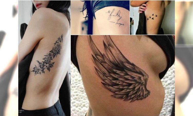 Tatuaż Na żebrach Boli Ale Dla Tych Wzorów Warto Pocierpieć