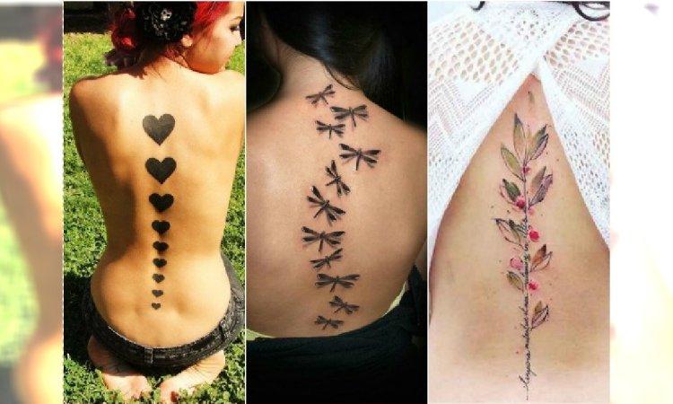 Tatuaż Wzdłuż Pleców Urzekające Wzory Którym Się Nie