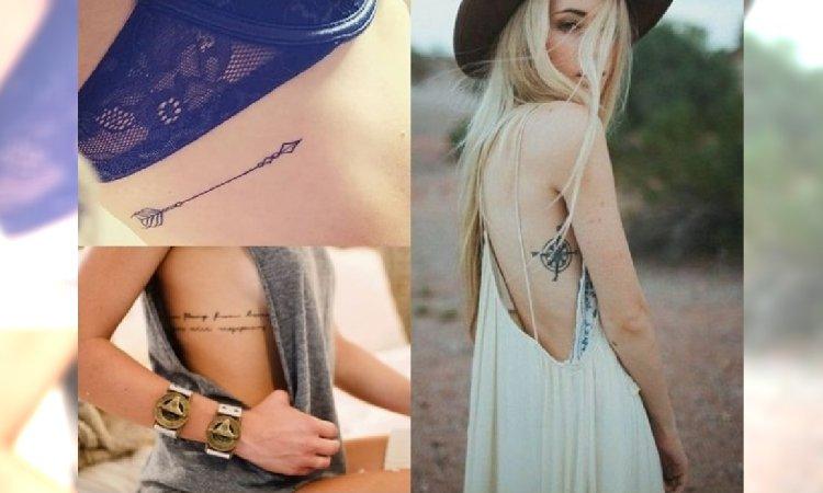 Top 21 Kobiecych Tatuaży Na żebrach
