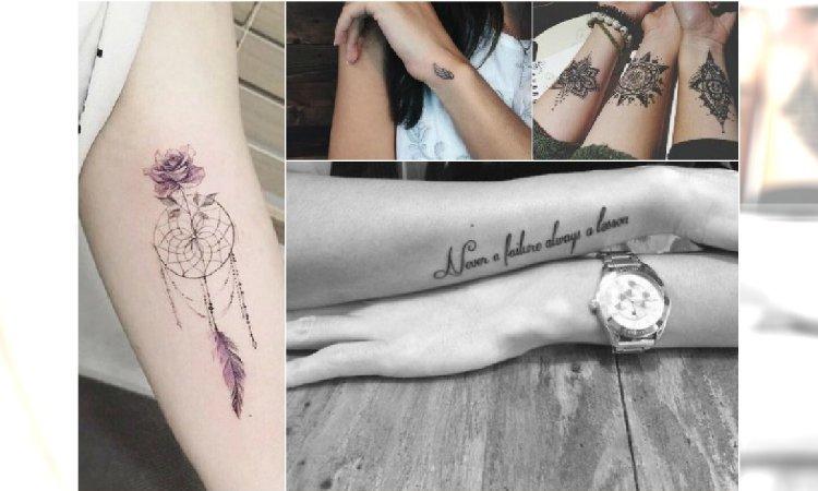 Tatuaż Na Ręce śliczne Wzory Tatuażu Na Rękę Dla Kobiet