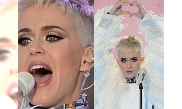 """To NIE BYŁA zwykła kreacja. Na koncercie """"One Love Manchester"""", Katy Perry zaprezentowała się w..."""