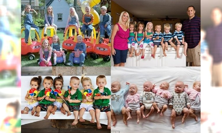 Czworaczki, pięcioraczki a nawet ośmioraczki... Zobacz zdjęcia niesamowitych rodzin!