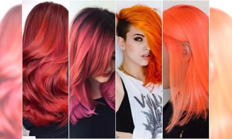 Letnie uderzenie koloru: mango, mandarynka, flamingo, sunset. KOLORY WŁOSÓW, którym się nie oprzecie!